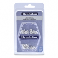 Beadalon Crimp Cover Assorted argenté