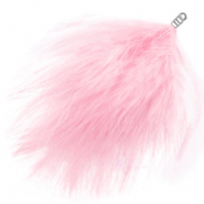 Plumes peluche rose icing